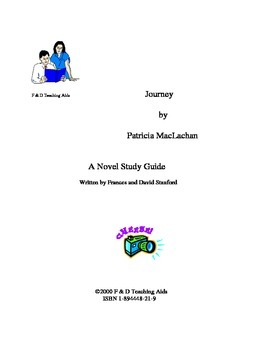 Journey Novel Study Guide