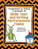 Journeys Second Grade- Teacher's Pets Weekly Skills Test a