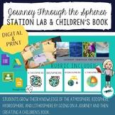 Journey Through the Spheres - Station Activity & Children's Book