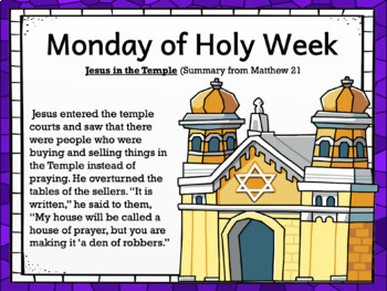 LENT: Journey With Jesus During Holy Week