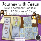 Journey With Jesus Lapbook (40 New Testament Bible Stories of Jesus)