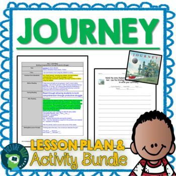 Journey by Aaron Becker 4-5 Day Lesson Planner