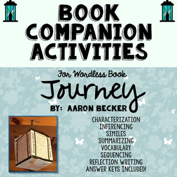 Journey by Aaron Becker, Wordless Book Companion, Project