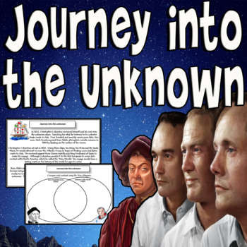 Journey into the Unknown - Columbus and Apollo 11