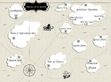 Journey of the Genres Travel Map