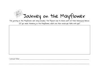 Journey on the Mayflower