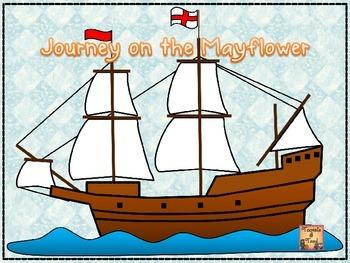 Journey on the Mayflower...An Upper Elementary Voyage