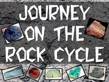 Journey on the Rock Cycle PowerPoint (Igneous, Sedimentary