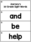Journey's 1st Grade High Frequency Word Flashcards