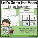 Journey's 1st Grade Lesson 16 Let's Go to the Moon Supplement