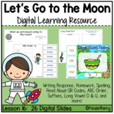 Journey's 1st Grade Lesson 16 Let's Go to the Moon Digital Lesson
