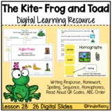 Journey's 1st Grade Lesson 28 The Kite Digital Lesson {Distance Learning}