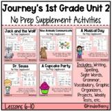 Journey's 1st Grade Unit 2 Supplement No Prep Bundle