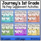 Journey's 1st Grade Year Long Bundle Resource Supplemental Activities