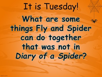 Journey's 2nd Grade Lesson 4 Diary of a Spider