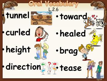 Journey's 2nd Grade Lesson 9, How Chipmunk Got His Stripes