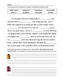 Journey's 2nd Grade Vocabulary and Skills Test Unit 3