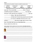 Journey's 2nd Grade Vocabulary and Skills Test Unit 5