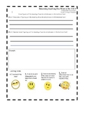 Journey's 3rd Grade Stories Common Core Standards Reflection Sheets