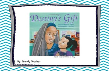 Journey's 3rd grade Destiny's Gift flipchart