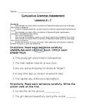 Journey's 4th Grade Grammar Assessment