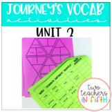 Journey's 5th Grade Vocabulary Activities Unit 2