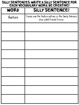 Journey's 5th Grade Vocabulary Activities Unit 4