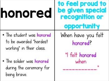 Journey's 5th Grade Vocabulary Lessons: Unit 5
