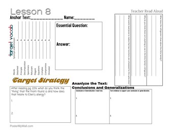 Journey's 6th Grade: Lesson 8- Science Friction