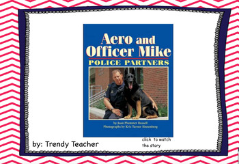 Journey's Aero and Officer Mike flipchart