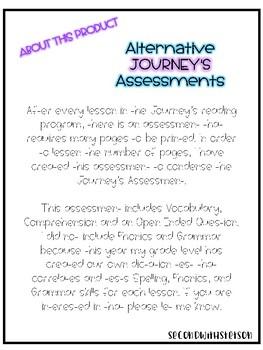 Journey's Alternate Assessment Grade 2 : Lesson 1 Henry and Mudge