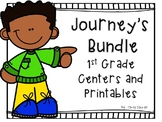 Journey's Bundle, 1st Grade, Centers and Printables