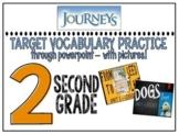 Houghton Mifflin Journeys ELA Vocabulary PowerPoints: Unit 1 - 6 (30 Lessons)
