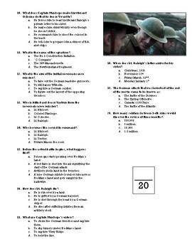 Journey's End Movie Quiz