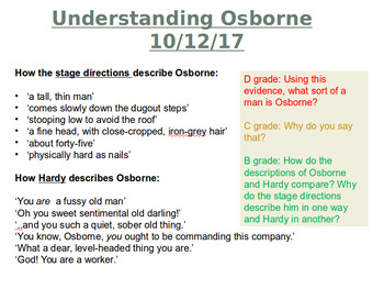 Journey's End: Understanding Osbourne