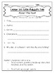 Journey's First Grade Lesson 20 Comprehension Pack
