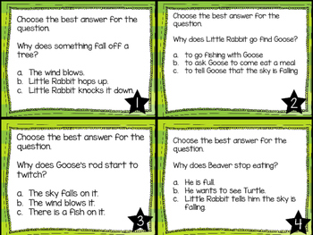 Journey's First Grade Lesson 20 Little Rabbit's Tale Comprehension