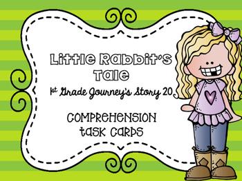Journey's First Grade Lesson 20 Little Rabbit's Tale Compr