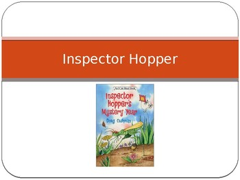 Journey's -First Grade - Lesson 29- Inspector Hopper - Sp & Voc powerpoint