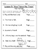 Journey's First Grade Lesson 5 Comprehension Pack