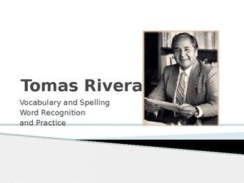 Journey's - First Grade - Lesson 19 - Thomas Rivera - Sp & Voc Powerpoint