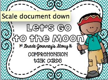 Journey's First Grade Unit 4 Bundle Comprehension Task Cards