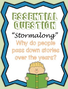"Journey's Fourth Grade: ""Stormalong"""
