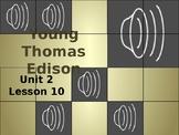 Journey's Grade 3 Lesson 10 Vocab Slideshow- Young Edison Edison