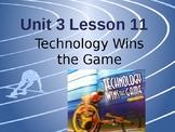 Journey's Grade 3 Lesson 11 Vocab Slideshow- Technology Wi