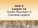 Journey's Grade 3 Lesson 13 Vocab Slideshow- Yonder Mountain