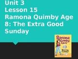 Journey's Grade 3 Lesson 15 Vocab Slideshow- Ramona Quimby, Age 8