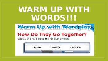 Journey's Grade 3 Lesson 16 Vocab Slideshow- Judy Moody Saves the World