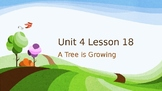 Journey's Grade 3 Lesson 18 Vocab Slideshow- A Tree is Growing
