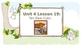 Journey's Grade 3 Lesson 19 Vocab Slideshow- Two Bear Cubs